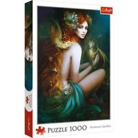 Puzzle, Puzzle 1000 Przyjaciółka smoków TREFL
