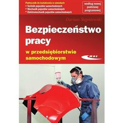 Bezpieczeństwo pracy w przedsiębiorstwie samochodowym (opr. miękka)