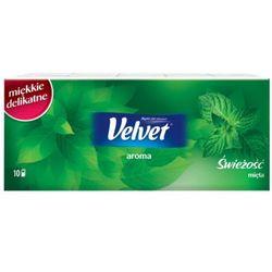 VELVET 10x9szt Aroma Chusteczki higieniczne zapachowe mięta