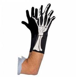 """Rękawiczki """"szkielet"""" na Halloween - 1 para"""
