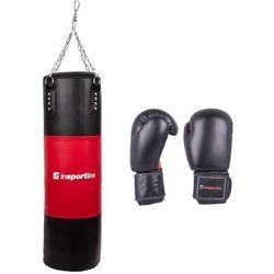 Worek treningowy 50-100kg inSPORTline z rękawicami bokserskimi