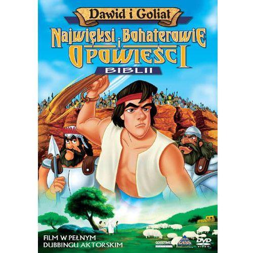 Filmy animowane, Dawid i Goliat - film DVD wyprzedaż 02/19 (-50%)