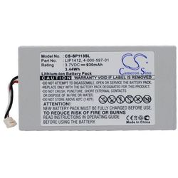 Sony PSP Go / LIP1412 930mAh 3.44Wh Li-Ion 3.7V (Cameron Sino)