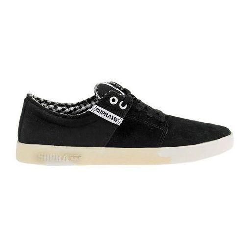 Męskie obuwie sportowe, buty SUPRA - Stacks Ii Black/White-White (050) rozmiar: 46