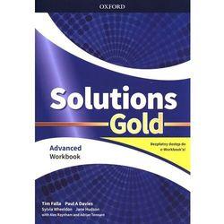 Solutions Gold Advanced WB + e-book OXFORD - Tim Falla, Paul A. Davies - książka