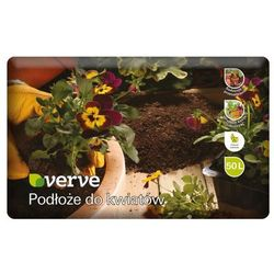 Podłoże do kwiatów Verve 50 l