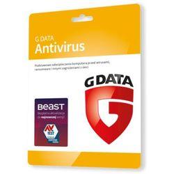 G Data AntiVirus 3 PC - Kontynuacja 1 rok