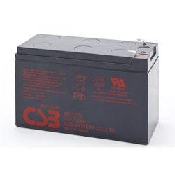 Akumulator żelowy wymienny 12V 7,2Ah CSB Orvaldi GP1272 F2