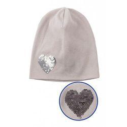 Dzianinowa czapka dla dziewczynki 3X3702 Oferta ważna tylko do 2022-10-15