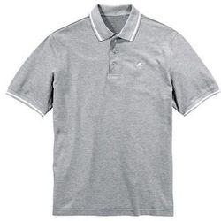 Shirt polo bonprix jasnoszary melanż