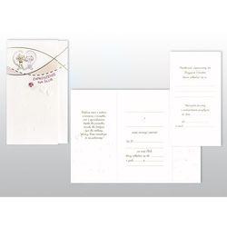 Zaproszenia na Ślub Ślubne Karnet komplet