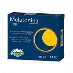 Melatonina 1mg 60 tabletek Naturell