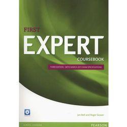 First Expert Third Edition. Podręcznik + CD (opr. miękka)