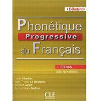 Książki do nauki języka, Phonetique Progressive Du Francais Debutant Książka Z Kluczem 2 Edycja (opr. miękka)