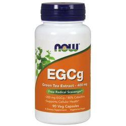Suplement prozdrowotny NOW Foods EGCg Green Tea Extract 400 mg 90 kaps Najlepszy produkt Najlepszy produkt tylko u nas!