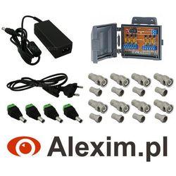 Pakiet akcesoriów do zestawów AHD na 2 kamery