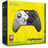 Gamepady, Kontroler bezprzewodowy MICROSOFT WL3-00142 Cyberpunk 2077 do Xbox One