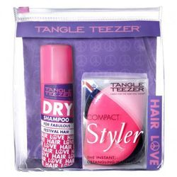 TANGLE TEEZER Compact Styler Hairbrush Pink