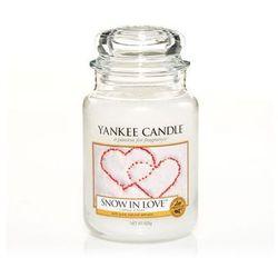 Yankee Candle Snow In Love 623g DUŻA ŚWIECA SZYBKA WYSYŁKA infolinia: 690-80-80-88