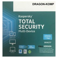 Kaspersky Total Security MD 2018 10PC/1rok ANG
