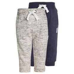 mothercare NORDIC TEXTURED JOGGERS BABY 2 PACK Spodnie materiałowe darks multicolor