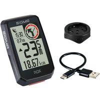 Liczniki rowerowe, SIGMA SPORT ROX 2.0 Bike Computer incl. GPS Mount, czarny 2021 Urządzenia GPS