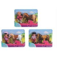 Figurki i postacie, Simba - Evi Pony Lalka z konikiem - Simba Toys. DARMOWA DOSTAWA DO KIOSKU RUCHU OD 24,99ZŁ