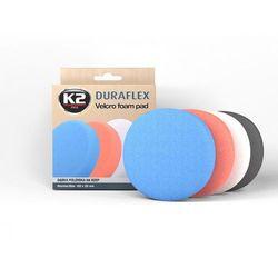 Gąbka polerska K2 Duraflex (niebieska, mocnościerna, średnica 150 mm)