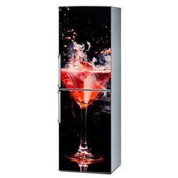 Mata magnetyczna na lodówkę - Czerwony drink 4297