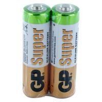 Baterie, 2 x bateria alkaliczna GP Super Alkaline LR6/AA (taca)