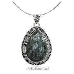 Biżuteria srebrna z kamieniami naturalnymi - Zawieszka srebrna z Surphanite