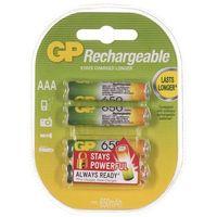 Akumulatorki, Akumulatory GP ReCyko+ 65AAAHCN-GB4 650 mAh