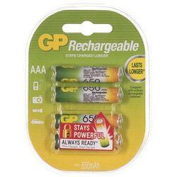 Akumulatory GP ReCyko+ 65AAAHCN-GB4 650 mAh