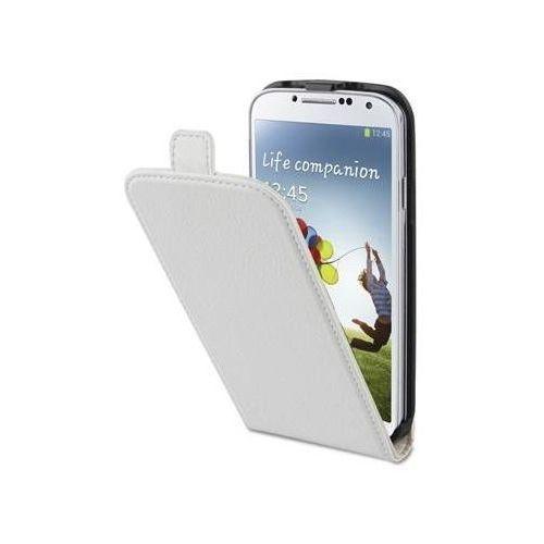 Etui i futerały do telefonów, XQISIT Flipcover (Samsung Galaxy S4) Biały + Odbiór w 650 punktach Stacji z paczką!