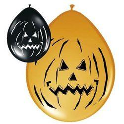 Balony lateksowe Halloweenowe Dynia - 30 cm - 8 szt.