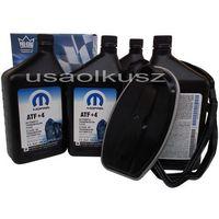 Oleje przekładniowe, Olej MOPAR ATF+4 oraz filtr automatycznej skrzyni biegów NAG1 Jeep Wrangler 2011-