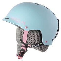 SHRED HALF BRAIN FROSTING BABY BLUE - kask snowboard rolki rower R. M/XL 57-61 CM