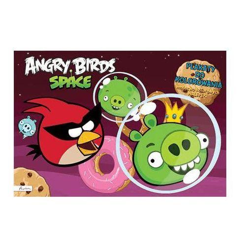 Kolorowanki, Angry Birds Space. Plakaty do kolorowania