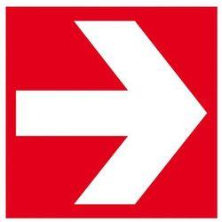 Kierunek do miejsca umieszczenia sprzętu pożarniczego