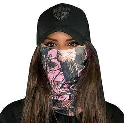 SA Co. Chusta Wielofunkcyjna Face Shield™ Pink Forest Camo - SA Pink Forest Camo