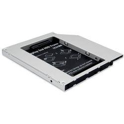 ASSMANN Ramka montażowa SSD/HDD do napędu CD/DVD/Blu-ray, SATA na IDE, 9,5 mm