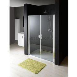 ONE drzwi prysznicowe do wnęki 90x190cm szkło czyste GO2890