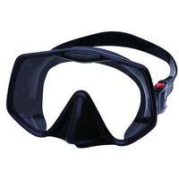 Maski, płetwy i fajki, Atomic Frameless 2 Standard (Transparent & Black)
