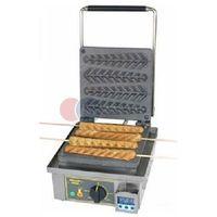 Gofrownice gastronomiczne, Gofrownica elektryczna pojedyncza do gofrów na patyku 1,6 kW Roller Grill GES 23