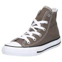 Buty sportowe dla dzieci, Converse CHUCK TAYLOR AS CORE HI Tenisówki i Trampki wysokie grau