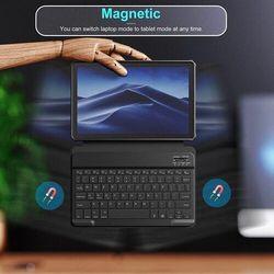 Etui na Galaxy Tab A7 INFILAND Czarny Klawiatura