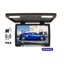 "NVOX RF1590 BL Monitor podwieszany podsufitowy LCD 15"" cali LED IR FM VGA"
