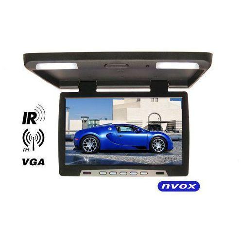"""Monitory samochodowe, NVOX Monitor podsufitowy podwieszany LED 19"""" z IR FM VGA 12V - DARMOWA DOSTAWA!!!"""