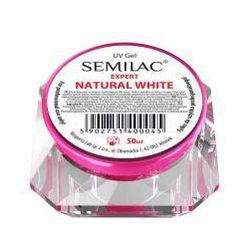 Semilac UV Gel Expert Natural White, żel do paznokci, 50ml