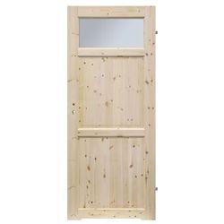 Drzwi z podcięciem Radex Lugano 70 prawe sosna surowa